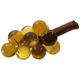 Amber Lucite Grapes