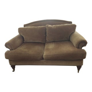 Lillian August Velvet Loveseat