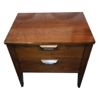 Mid-Century Walnut Nightstand