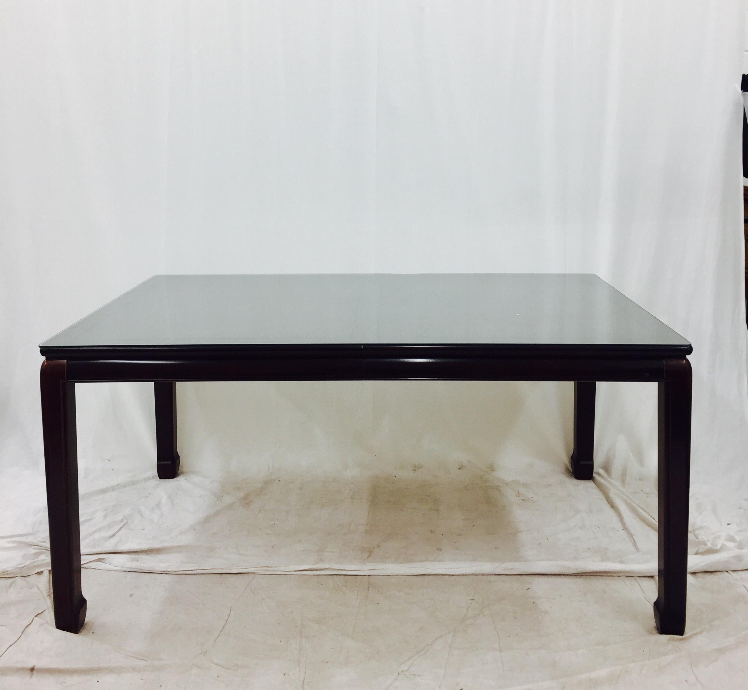Vintage Drexel Heritage Ming Style Dining Table   Image 5 Of 8