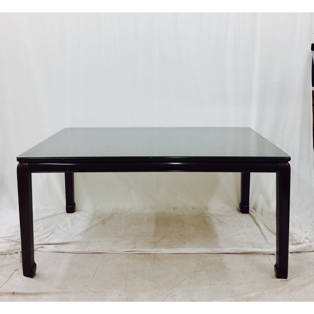 Vintage Drexel Heritage Ming Style Dining Table Chairish - Drexel dining table