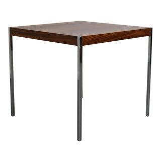 Harvey Probber Rosewood & Chrome Dining Table