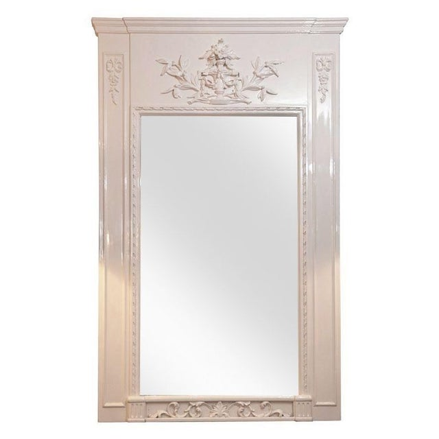 Image of French Trumeau Mirror