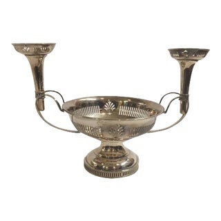 English Silverplated Epergne