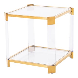 Blink Home Gold End Table