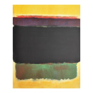 Pair of framed posters by Mark Rothko--Ukraine/Russia 1950s