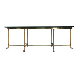 LaBarge Brass Coffee Table