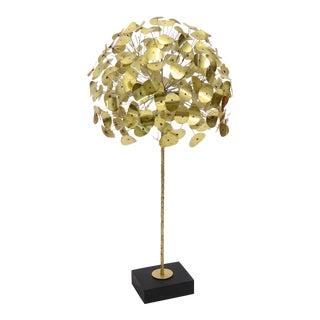 Oversize Dandelion Sculpture In Brass By Jere