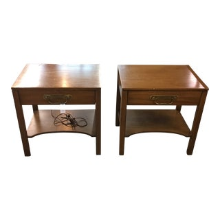 Vintage Henredon Side Tables- A Pair