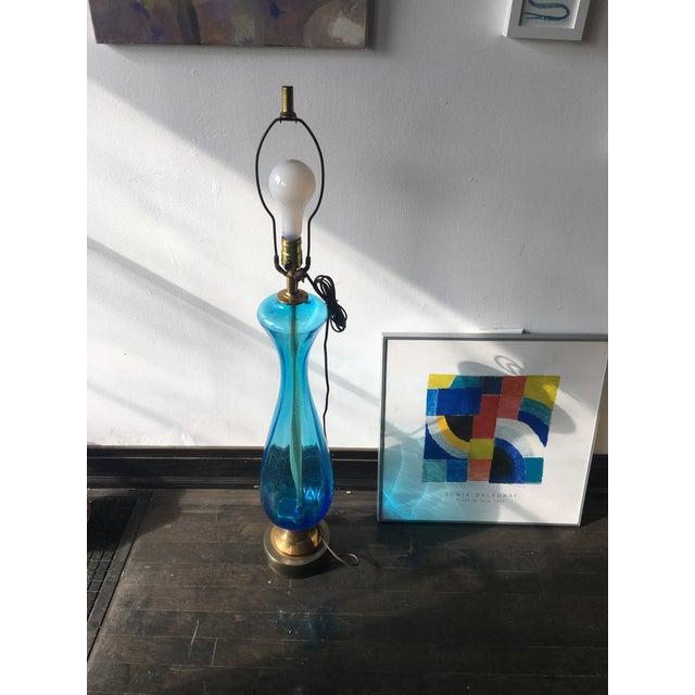 Image of Italian Murano Glass Table Lamp