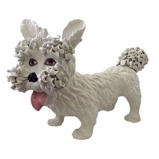 Large Ceramic Dog