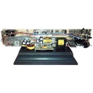 Vintage TV Test Equipment Circuit Board Sculpture By Bill Reiter. Circa Mid 20th Century.