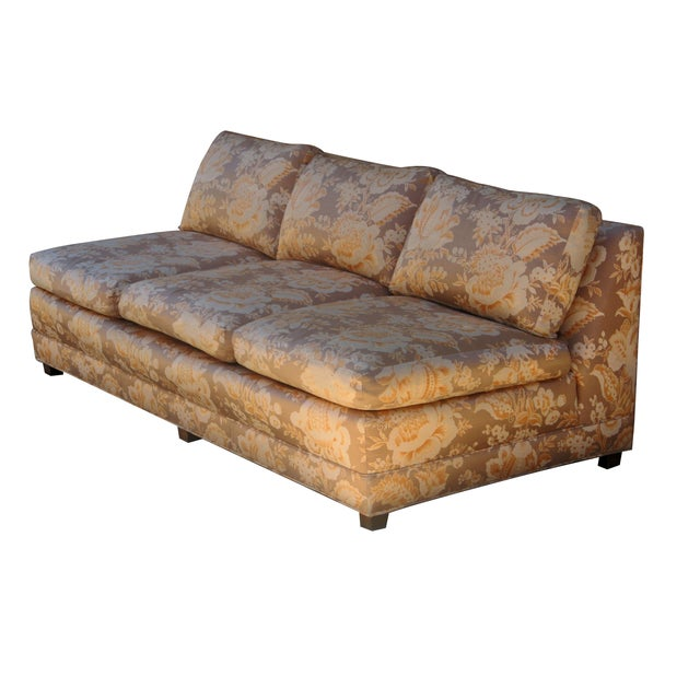 Baker Furniture Armless Sectional Sofa - 3 Pieces - Image 7 of 10