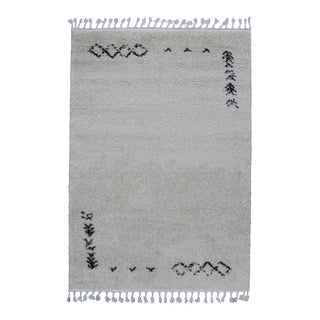 Fluffy Plush Kilim Patterned Rug 8'x 11'