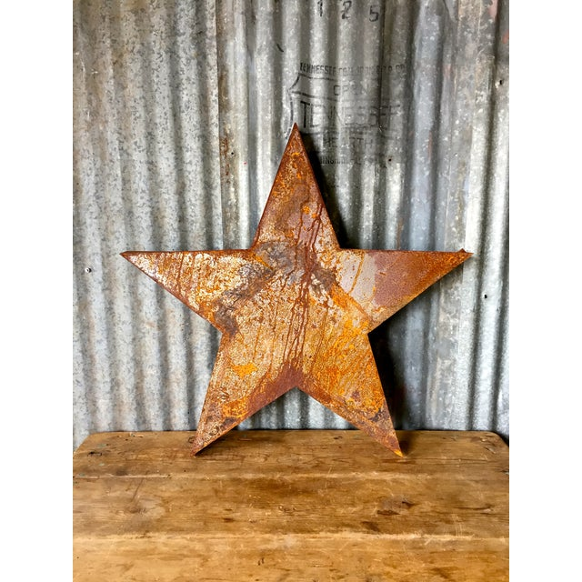 Handcrafted 3D Metal Star - Image 3 of 10