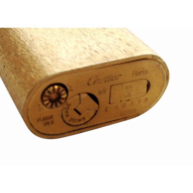 Image of 18-Karat Gold Cartier Pocket Lighter