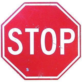 """18"""" Metal Stop Sign"""