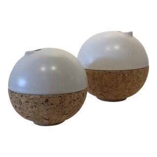 Cork Vases - A Pair