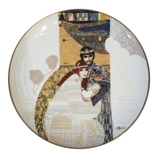 Bathsheba and Solomon Knowles China Plate