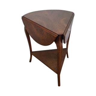Widdicomb Vintage Walnut Louis XV Napkin Table