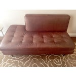Image of Room & Board Brown Leather Sofa