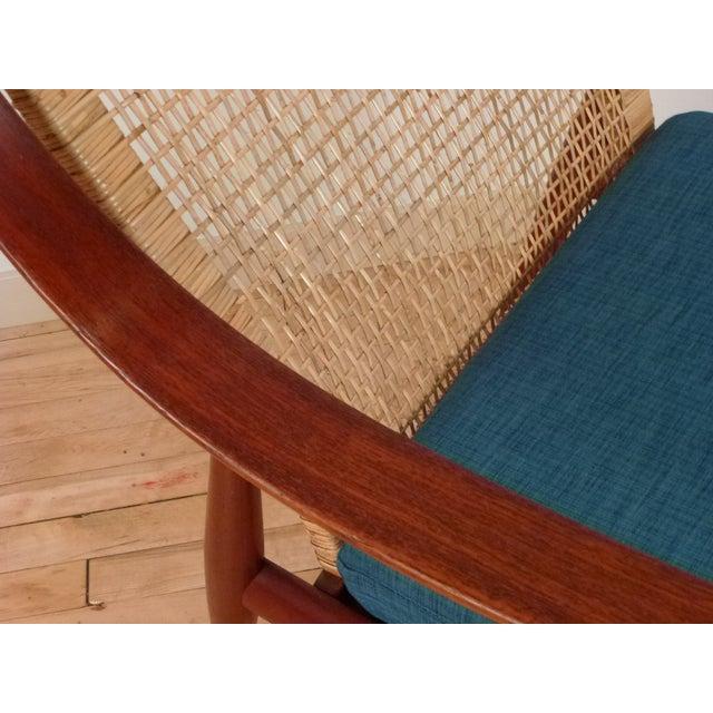 Danish Modern Peter Hvidt Cane Back Chair - Image 6 of 7