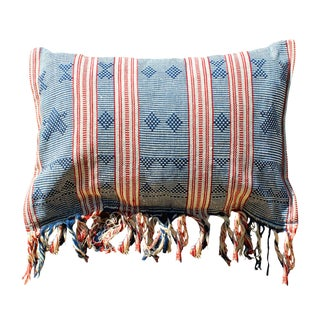 "Brunna ""Sumba Sape"" Handloomed Ikat Pillow"