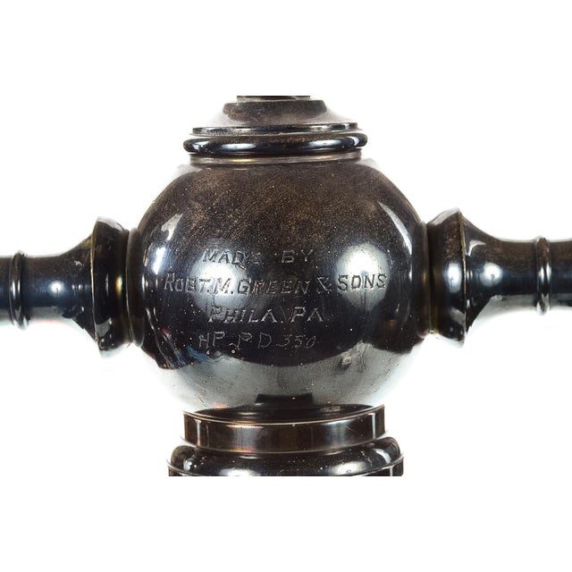 Image of Robert M. Green & Sons Marble Soda Fountain Tap Stand
