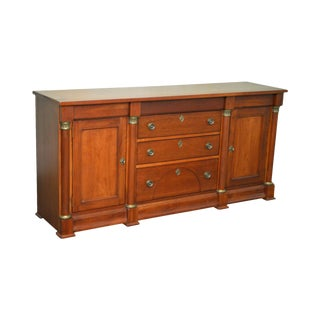 Lexington Cherry Empire Style Sideboard Buffet Cabinet