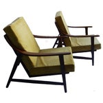 Image of Danish Modern Lounge Chair by Mogens Kold - a Pair