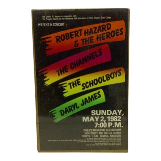 West Chester State College Concert Series Poster