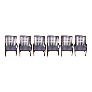Kimball Carrington Armchairs - Set of 6