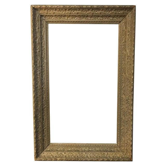 Image of Large Antique Gilt Wood Frame