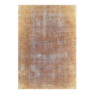 "Pasargad Vintage Overdyed Wool Area Rug - 6'6"" X 9'7"""