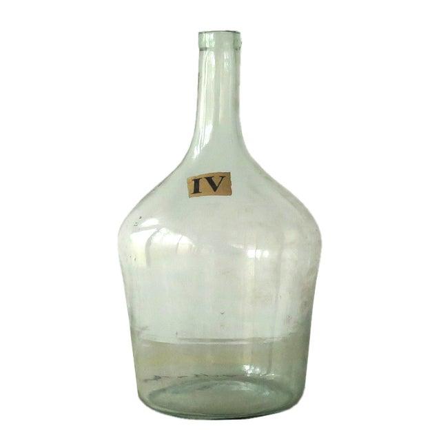 Vintage Green Glass Demijohn Bottle - Image 2 of 9
