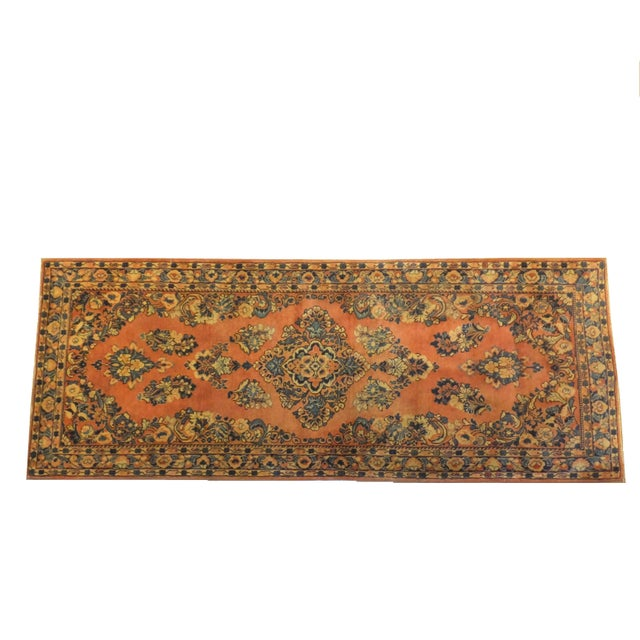 "Leon Banilivi Antique Persian Sarouk 6'6"" X 2'7"" - Image 1 of 4"