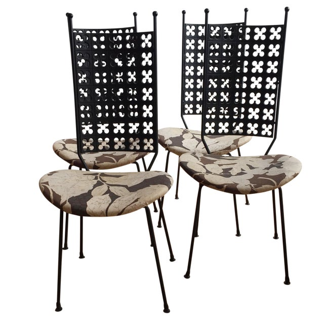 Arthur Umanoff Dining Chairs- Set of 4 - Image 1 of 10