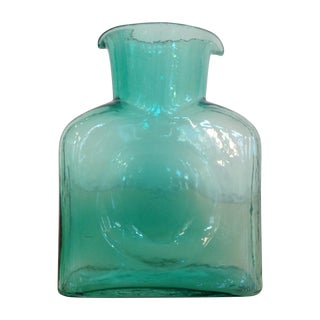 1960's Sea-Green Blenko Pitcher