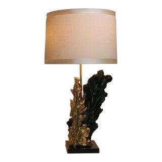 French Gilt & Resin Lamp