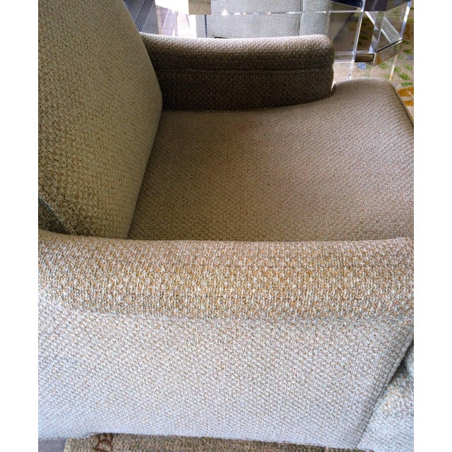 Pair of Tall Back Lounge Chairs in the Manner of Dunbar - Image 3 of 7