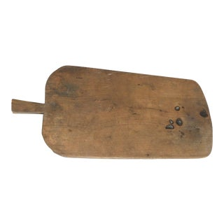 Early 1900's Traditional Thick French Bread Board
