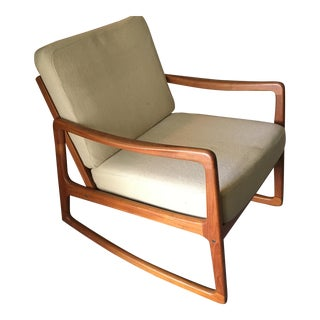 France & Son Danish Teak Rocking Chair