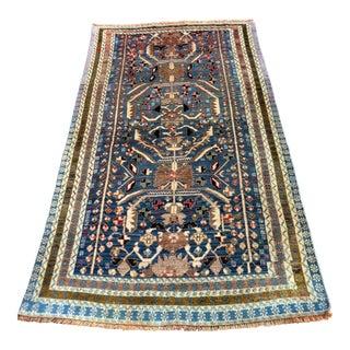 "Vintage Persian Mehabad Rug - 3'7"" x 6'8"""
