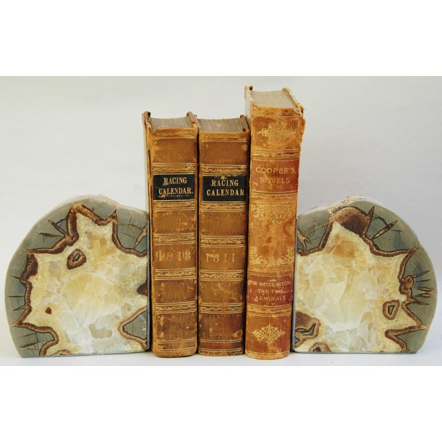 Dragonstone Geode Bookends- A Pair - Image 4 of 6