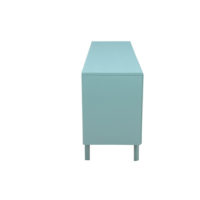 Mid-Century Blue Dresser - Image 5 of 7