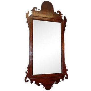 C.1780 Federal Style Mahogany Mirror