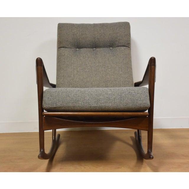 Ib Kofod Larsen for Selig Rocking Chair - Image 5 of 11