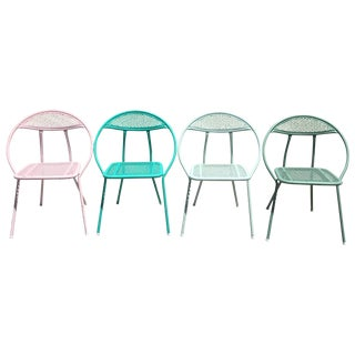 Mid-Century Salterini Hoop Patio Chairs