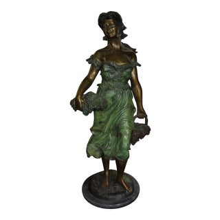 Harvest Girl Sculpture Statue