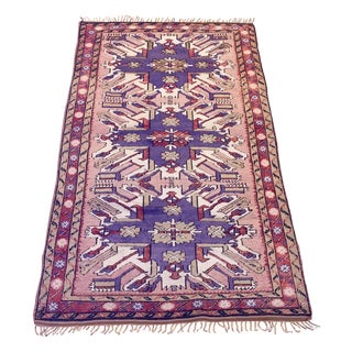 Kras Turkish Antique Rug - 3′8″ × 6′3″
